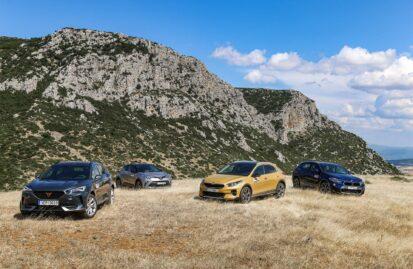 Συγκρίνουμε: BMW X2 sDrive 18i Αuto – Cupra Formentor 1.5 150 PS – Kia Xceed 1.5 7DCT 48V – Toyota C-HR 1.8 HSD