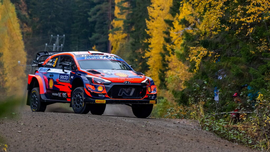 Ράλλυ Φινλανδίας, Ott Tanak-Martin Jarveoja (Hyundai i20 Coupe WRC)