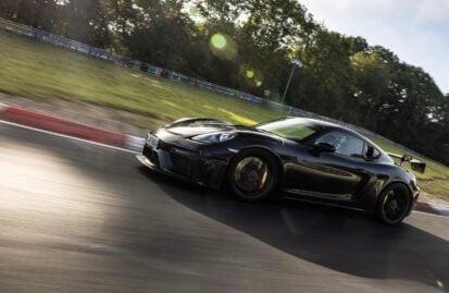 On-board με την Porsche 718 Cayman GT4 RS στο Nurburgring (+video)