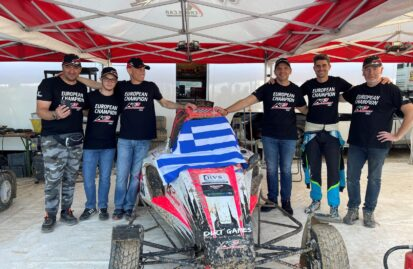 Θετική παρουσία για τον Σπύρο Ράπτη στον τελευταίο αγώνα του Ευρωπαϊκού Πρωταθλήματος Autocross στην Ισπανία.