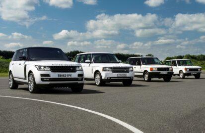 Range Rover: μια λαμπερή ιστορία