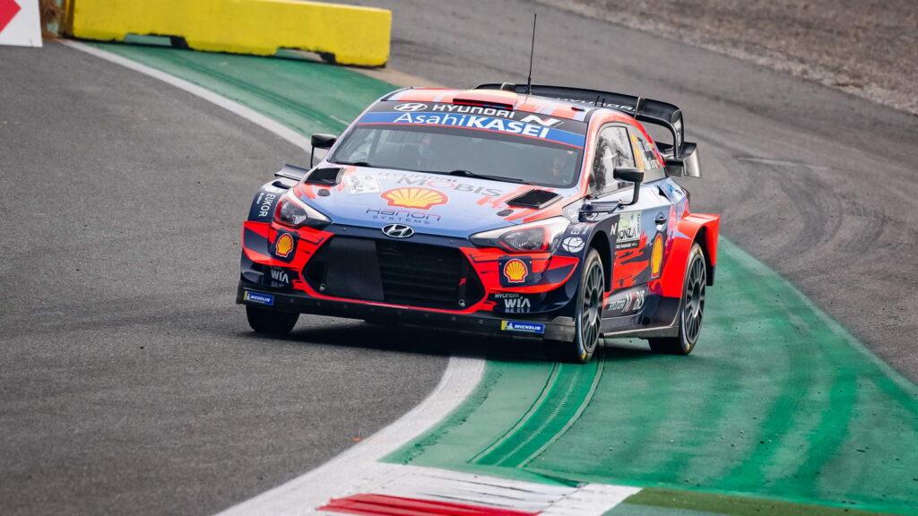 Dani Sordo Monza Rally Hyundai