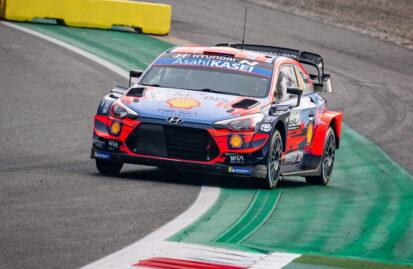 Η σύνθεση της Hyundai στο Ράλλυ Monza