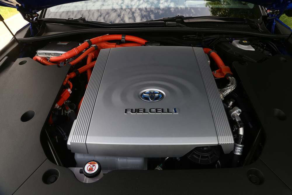 Toyota Mira, υδρογόνο για καύσιμο