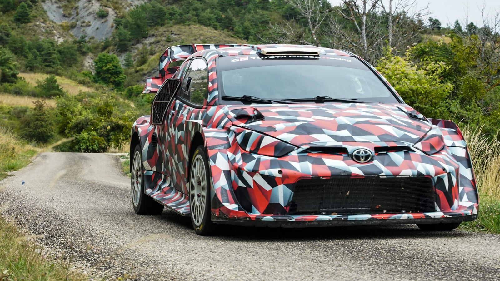 Toyota Yaris Rally1