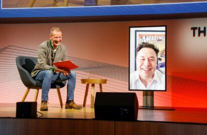 O Elon Musk καλεσμένος σε συνέδριο της VW
