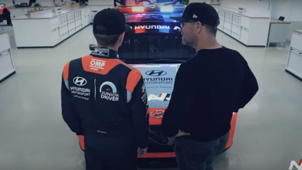 Oliver Solberg, Petter Solberg, Hyundai i20 N Rally2