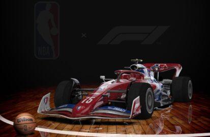 Συνεργασία NBA και Formula 1